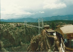 Royal Gorge Bridge and Park--A Place to Visit When in Colorado