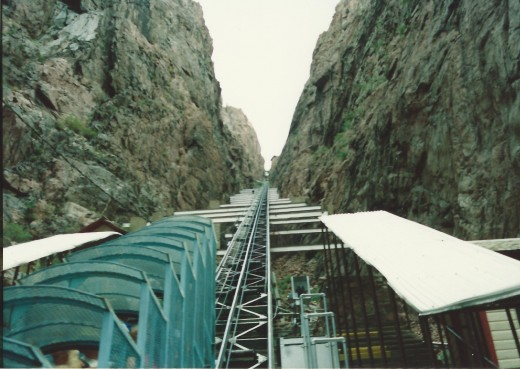 The famous inclined railway