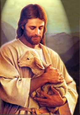 Christ and lamb