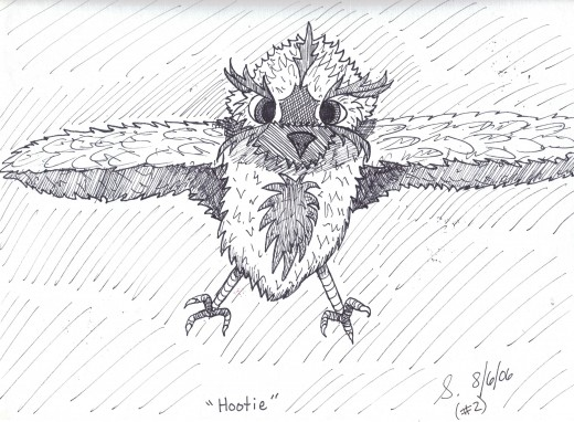 """Hootie"" (second)"