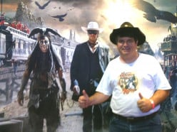 Disney's Lone Ranger rides high and mighty on the silver screen