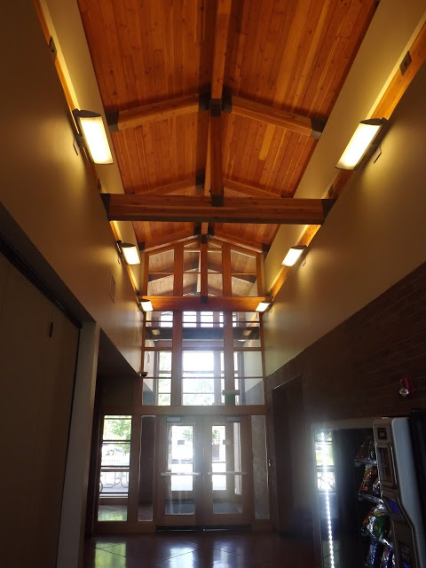 Beautiful Vaulted Ceiling in the Foyer