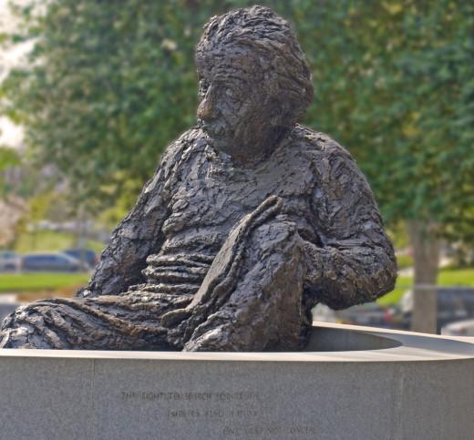 ALBERT EINSTEIN MEMORIAL, NATIONAL ACADEMY OF SCIENCES, WASHINGTON