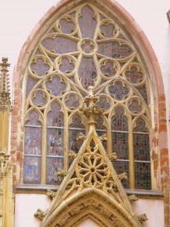Gothic entrance, Jesuitenkirche, Trier