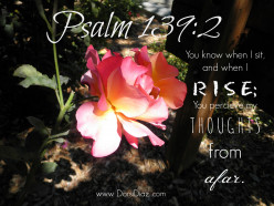 Psalm 139:2 art design