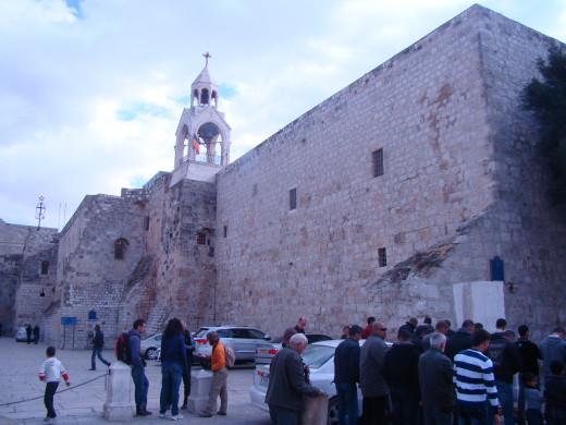 Standing high in Bethlehem