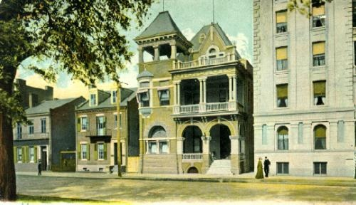 The old club was demolished in the 1970s and rebuilt at 170 St. Francis Street, another location on Bienville Square.