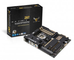 If you're a performance user, then the Asus Sabertooth 1150 motherboard is a solid option to pair with Intel's Haswell i5-4670k and i7-4770k processors.