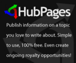 Hubpages, a way to publish information on topics you love to write about.