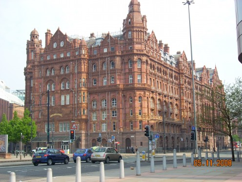 (Back of) The Midland Hotel, Manchester