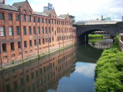 The old mills of Manchester
