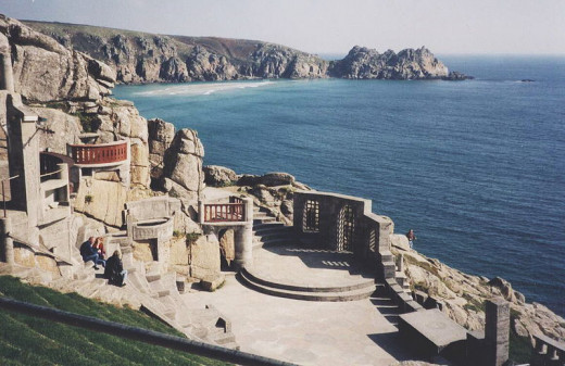 What to Do in Cornwall in July: Minack Theatre, Porthcurno