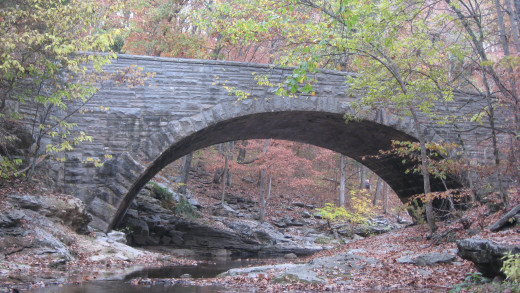 Stone Arch Bridge in McCormick's Creek State Park