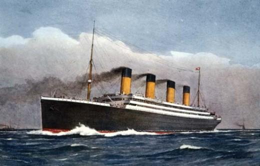 The Titanic sank in the North Atlantic Ocean on April 15, 1912.