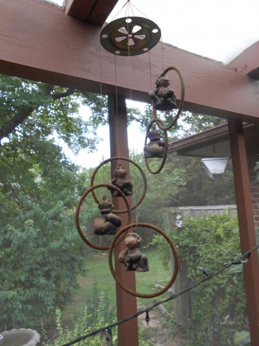 Monkey chimes