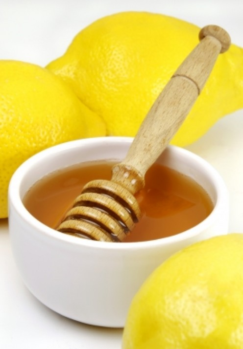 honey and lemon are a perfect combination in a homemade skin care recipe.