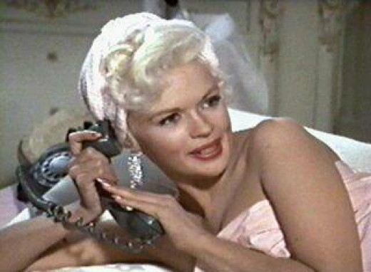 Jayne Mansfield reported to have 170 IQ