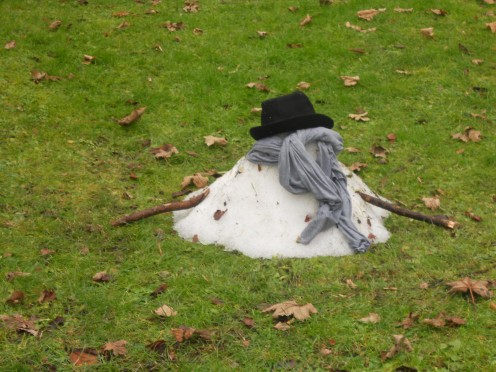 Unfortunately Snow Men do not last forever so enjoy your Snow Man while you can  before he/she thaws out.
