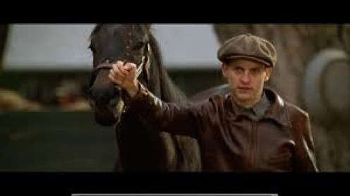 SeaBiscuit stars Toby McGuire and it was a major hit at the theaters. It tells the true story of the famous race horse named SeaBiscuit.