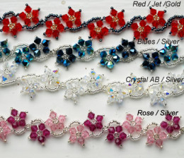 crystal bead patterns