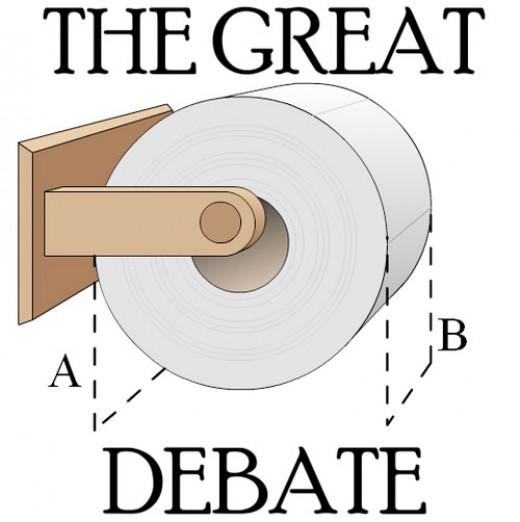 Toilet Paper Debate