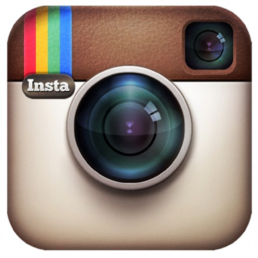 Instagram for iPhone 5 logo