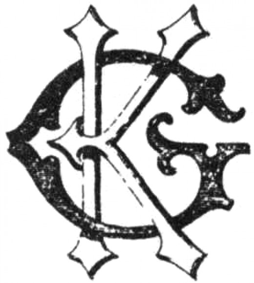 The first TSR logo was the initials of its founders Gary Gygax and Don kaye