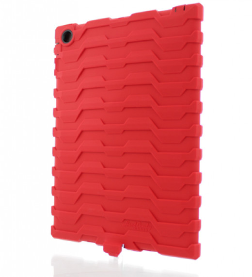 10mm of silicon shock absorbing four-corner protection for your iPad.