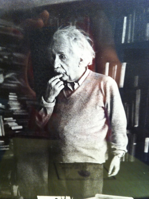 Einstein was a guest at The Willows four times. He enjoyed hiking about the estate and swimming naked in the pool.