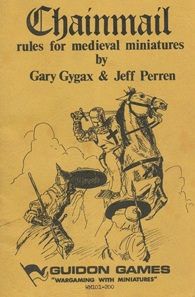 cover of the first edition of Chainmail