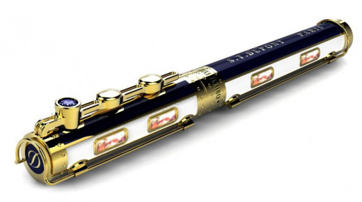 S.T. Dupont Orient Express Prestige Collection Fountain Pen