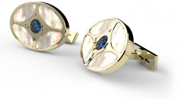 S.T. Dupont Orient Express Prestige Collection Cuff Links