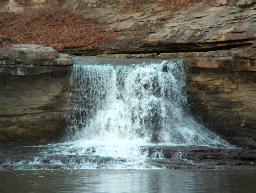 The Falls in McCormick's Creek State Park