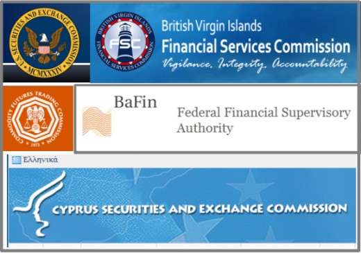 There are a variety of regulatory bodies with some form of control over binary options.