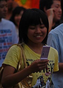 Smart phones are popular all around the world