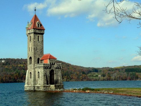 Kingfisher Tower Castle, Cooperstown, New York