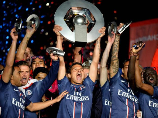 PSG's revolution won it's first league title in 2013