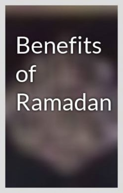 Benefits of Ramadan