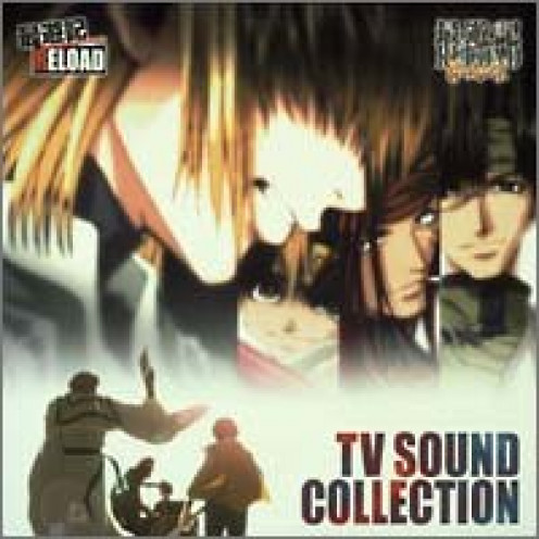 Saiyuki Reload & Saiyuki Reload Gunlock TV Sound Collection music album CD cover