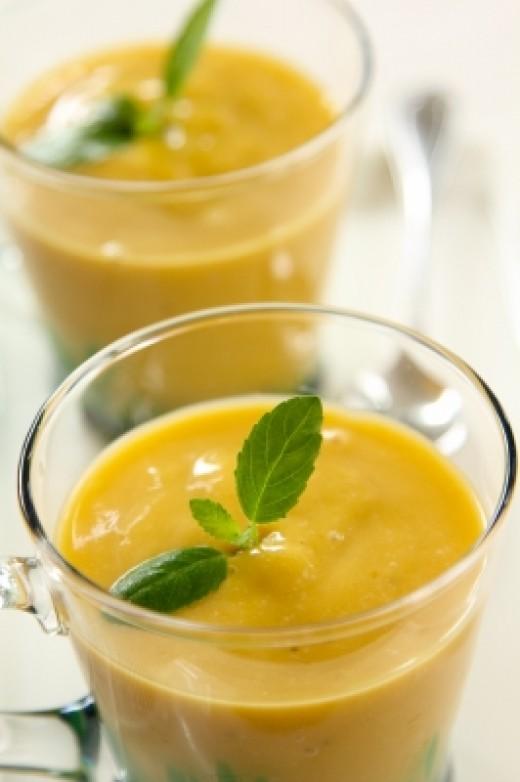 Delicious Mango Smoothie
