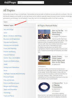 How To Change Your Hubpages Categories For Optimal Visibility