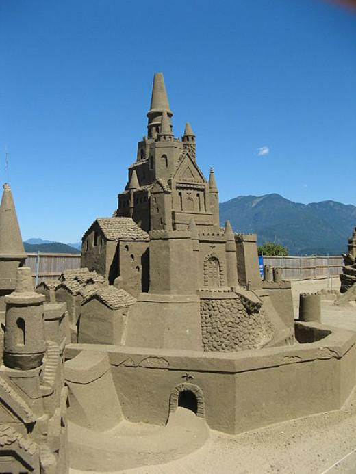 Amazing Sandcastle