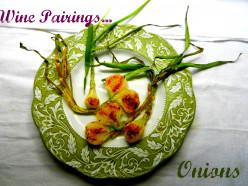 Wine Pairings and Peak Fresh Produce -- Onions