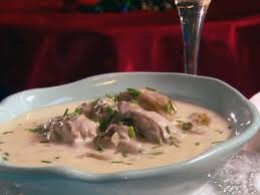 Oyster Stew Is So Rich And Delicious.