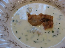 Oyster Stew Is So Rich And Delicious. Try topping your bowl of oyster stew with a deep fried oyster. Its a wonderful combination your sure to enjoy.