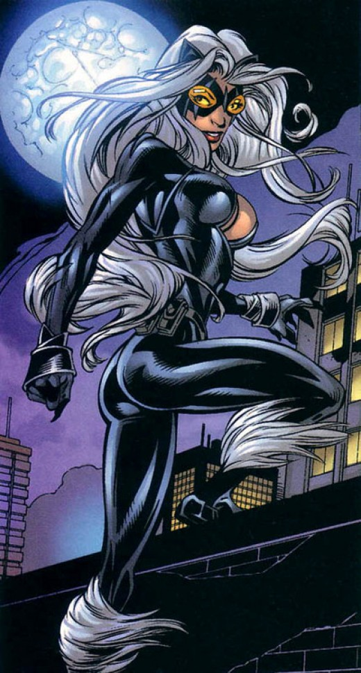 Ultimate Spider-Man Black Cat Costume