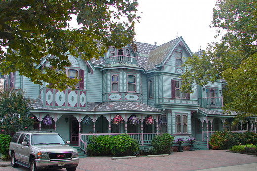 The Thomas Williamson Cottage on Hughes Street in Cape May was built around 1885. It is one example of the many Victorian Era bed and breakfasts that line the Cape May streets.