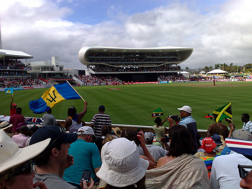 Cricket at Kensington Oval.
