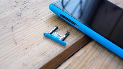 Micro SD Card Tray