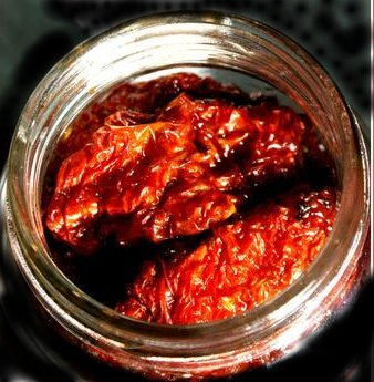 Using mason jars you can make batches of oven roasted tomatoes and store them all you have to do is.. Layer the tomatoes in a jar with fresh basil leaves and some sprigs of rosemary Pour olive oil in the jar until the tomatoes are covered then seal.
